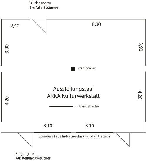 Arka Ausstellungssaal